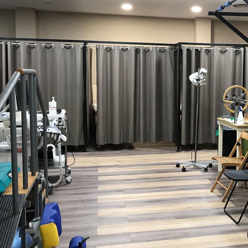 Instalaciones fisiopiedrasblancas Cabina de masaje